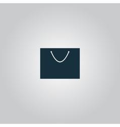 Shopping bag - icon vector