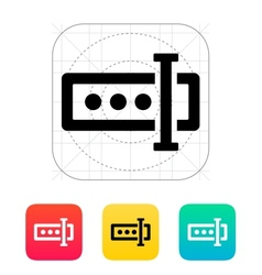 Input password icon vector