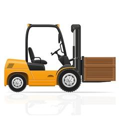 Forklift truck 05 vector