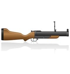 Grenade gun 02 vector