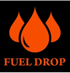 Drop of fuel vector