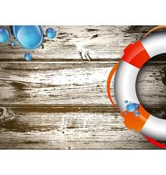Life buoy vector