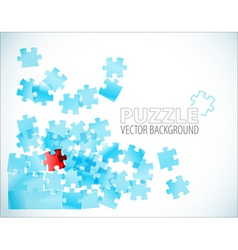 Abstract puzzle background vector
