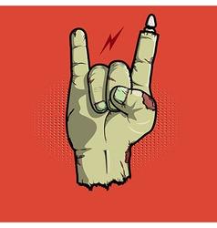 Rock isnt dead vector