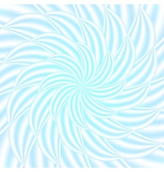 Blue abstract petal spiral background vector