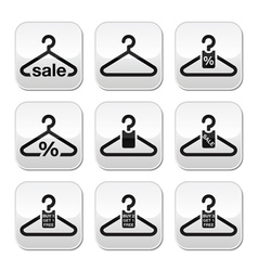 Hanger sale buy 1 get 1 free buttons set vector