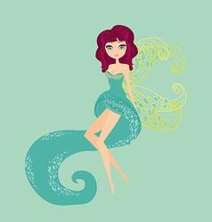 Cute fairy graphic vector