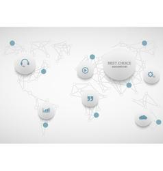 Modenr social network infographic vector
