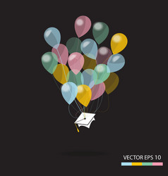 Graduation day vector