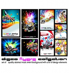 Music discotheque backgound vector