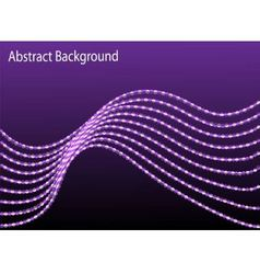 Abstract background with a moving wave vector