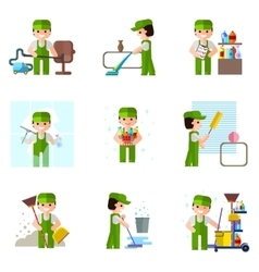 Cleaning company icon professional vector
