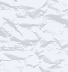 Grunge crumpled paper texture vector