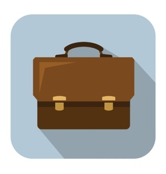 Briefcase icon vector