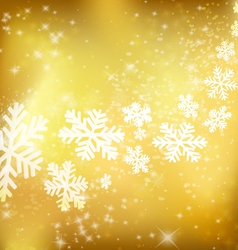 Golden xmas background vector