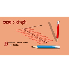 Pencils and graph vector