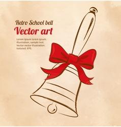 School bell vector