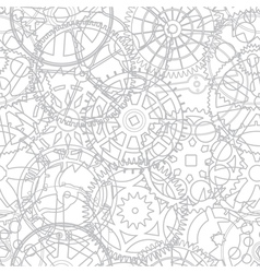 Gear cogs pattern background vector