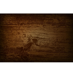 Vintage wooden background with space for your text vector