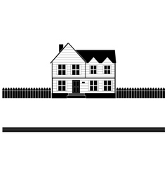 Real estate house banner vector