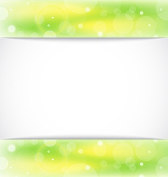 Eco light background with copy space vector