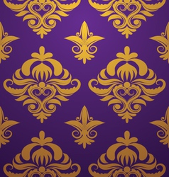 Gold-purple-pattern vector