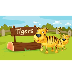 Zoo animal vector