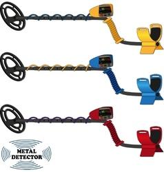 Metal sensor vector