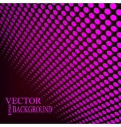 Abstract dotted background vector