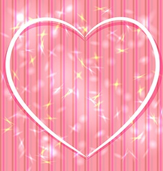 Abstract pink background with stripes light glare vector