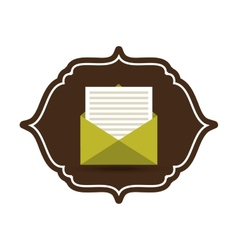 Eco mail vector