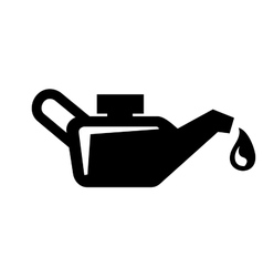 Engine oil icon vector