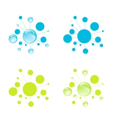 Microbiology cells vector