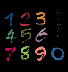 Number vector