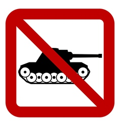 No war sign vector