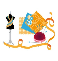 Sewing workshop vector