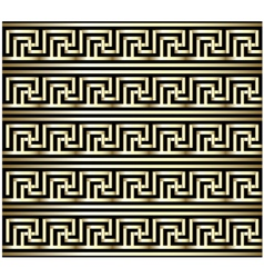 Greek key swastika design vector