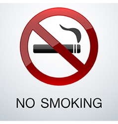 No smoking background vector