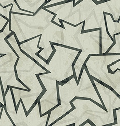 Crack seamless pattern with grunge effect vector