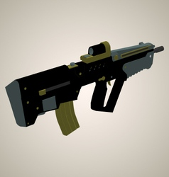 Weapon 2 isometric view vector