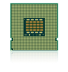 Processor with reflection vector