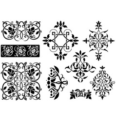Ornamental decoration vector