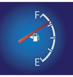 Fuel gage vector