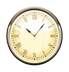 Old fashioned clock vector