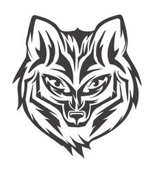 Fox head vector