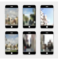 Mobile phones vector