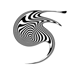 Design monochrome movement element vector