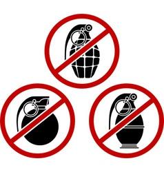 No grenades vector