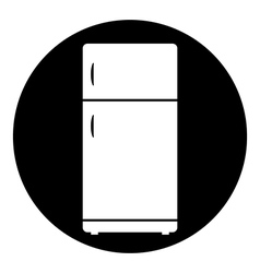 Refrigerator button vector