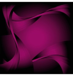 Abstract curve dark violet background vector